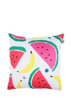 Watermelon pillow by The Hall from Cotton On. Fruit salad, yummy yummy!