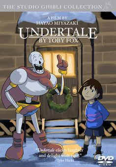 Studio Ghibli's UNDERTALE by locomotive111.deviantart.com on @DeviantArt