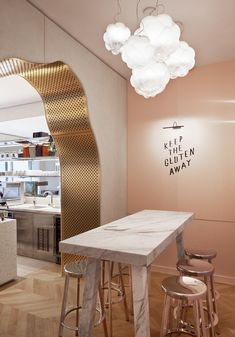 Mathieu Lehanneur Completed The Interiors of a Boutique Restaurant