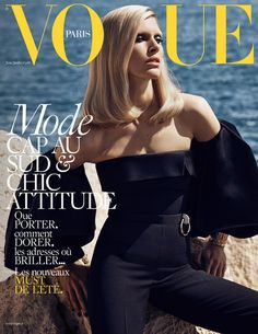 Iselin Steiro by Mikael Jansson for Vogue Paris June July 2016 cover - #thisisboss