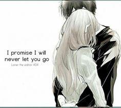 I promise I won't let go...