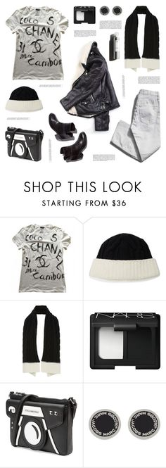 """""""Casual Chic"""" by deepwinter ❤ liked on Polyvore featuring Laurence Dacade, Chanel, Garance Doré, Tak.Ori, NARS Cosmetics, Karl Lagerfeld and Marc Jacobs"""