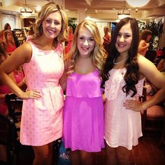 Gamma Phi on Philanthropy Day- PINTEREST FAMOUS Y'ALL! On Wednesday we wear Pink!