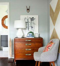Halloween Home Decor, Fall Home Decor, Autumn Home, Diy Home Decor, Pinterest Home Decor Ideas, App Home, Rooms Home Decor, Dresser As Nightstand, Grey Walls