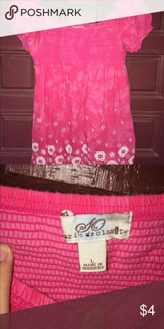 Women's Pink SO Brand Shirt Size Large SO Tops Blouses
