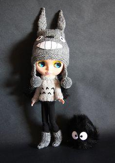 Quiero un gorrito así!!!! que me lo tejiera @eh.mio ??? - Totoro Blythe