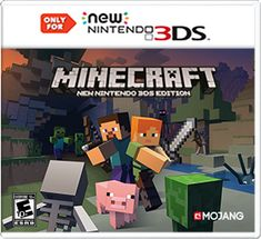 Learn more details about Minecraft: New Nintendo 3DS Edition for New Nintendo 3DS systems only and take a look at gameplay screenshots and videos.