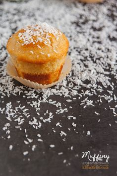 muffiny, kokosowe, cytrynowe, kokosowo-cytrynowe, przepis, ciasta, muffinki