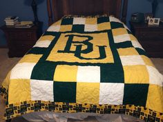 bear love! Great #Baylor quilt