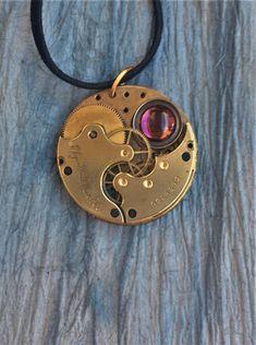 SALE Men's Gold Steampunk Necklace Steampunk Cosplay