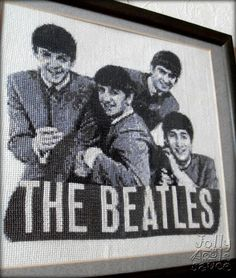 The Beatles Embroidery (Cross Stitch)