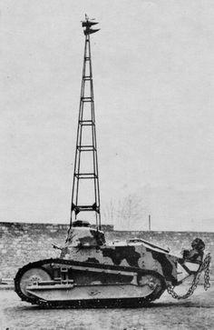 Police tank Renault FT