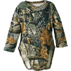 Cabela's Infants'/Toddlers' Camo Long-Sleeve Diaper Shirt