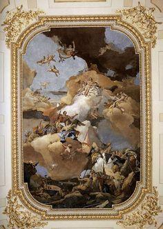 Giovanni Battista Tiepolo - Venus and Vulcan   Palazzo Reale di Madrid
