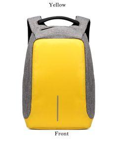 Premium Anti-theft Waterproof USB Backpack. tripatricks adventure travel · Travel  Backpacks 9487e95aa33ce