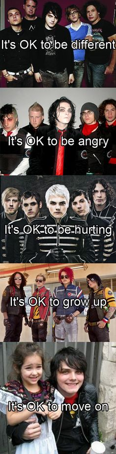So long and good night! If you didn't know today is March 22 the 3rd anniversary of MCR's break up. (oh my gee)