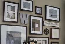 photo wall collage ideas - Google Search