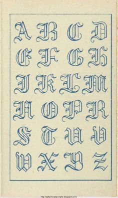 Free Easy Cross, Pattern Maker, PCStitch Charts + Free Historic Old Pattern Books: Fr - Sajou Alphabet Cursif, Fonte Alphabet, Tattoo Fonts Alphabet, Caligraphy Alphabet, Hand Lettering Alphabet, Calligraphy Letters, English Alphabet, Tattoo Lettering Styles, Graffiti Lettering Fonts