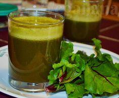 Veganana: Suco de Maçã com Folhas de Beterraba