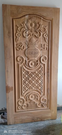 Ideas for wooden door design houses ceilings Single Door Design, Wooden Front Door Design, Double Door Design, Wood Front Doors, Wooden Doors, Pooja Room Door Design, Door Design Interior, Door Design Images, Porte Design