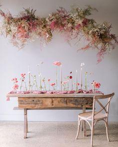 Boho Wedding, Wedding Table, Floral Wedding, Wedding Flowers, Wedding Flower Arrangements, Wedding Bouquets, Wedding Images, Wedding Designs, Flower Installation
