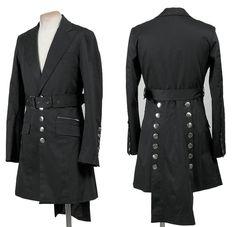 men steampunk coat