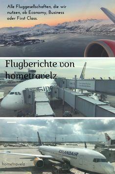 Unsere Flugberichte über unsere genutzte Fluggesellschaften. Ob Economy, Business oder First Class. Hier findet ihr alle möglichen Airlines und Routen.