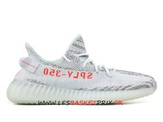 save off 36577 3bde4 Adidas Yeezy Boost 350 V2 Chaussures de Basket Prix Pas Cher Pour Homme  Blanc Girs b37571