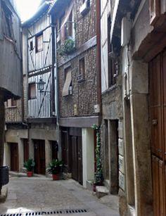 Mogarraz Street  Castilla León  Spain