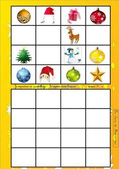 Theme Noel, Advent Calendar, Voici, Holiday Decor, Christmas, Montessori, Animation, Education, Portrait