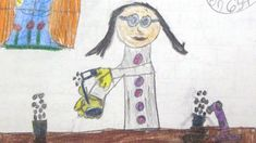 What Does a Scientist Look Like? Children are drawing women more than ever. Study is based on sketches drawn by children over 5 decades Science Biology, Science Education, Woman Drawing, Drawing Women, Katherine Johnson, Drawing Sketches, Drawings, Sketching, Science Magazine