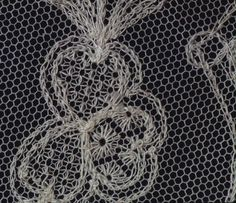 embroidery on net