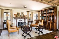Actor Mel Gibson is letting go of his Old World-style Malibu estate Malibu Mansion, Stone Archway, Den Ideas, Mel Gibson, Old World Style, Celebrity Houses, Leather Furniture, Step Inside, Property For Sale