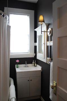 27 gothic bathrooms and design ideas part 1 for Dark purple bathroom ideas