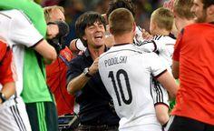 Lukas Podolski Arsenal Fc, Real Soccer, Soccer Fans, Dfb Mannschaft, Jogi Loew, Lukas Podolski, Philipp Lahm, Fifa 2014 World Cup, Germany
