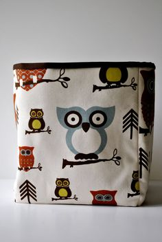 cute storage for N's craft supplies