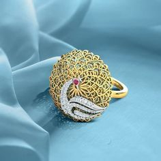 Real Gold Jewelry, Gold Jewelry Simple, Hand Jewelry, Womens Jewelry Rings, Gold Bangles Design, Gold Earrings Designs, Gold Jewellery Design, Gold Bangles For Women, Latest Ring Designs