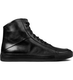 44be7f4bba9 SILENT Damir Doma Black Silas High Top Sneakers