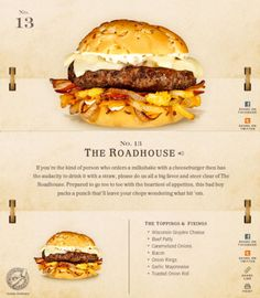 40 Of The Most Delicious-Looking Cheese Burger Combinations Ever - UltraLinx Burger Meat, Gourmet Burgers, Beef Burgers, Good Burger, Burger Recipes, Cheese Burger, Good Food, Yummy Food, Delicious Burgers