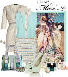 """Mint"" by misiku-sweet on Polyvore"