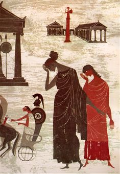 The Iliad and the Odyssey: The Heroic Story of the Trojan War and the Fabulous Adventures of Odysseus - adapted from the Greek classics of Homer by Jane Werner Watson, illustrated by Alice and Martin Provensen (1956).