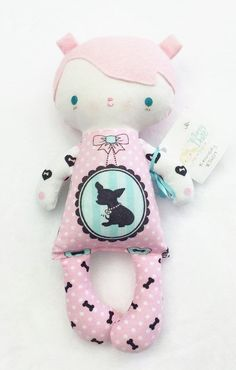 """Bit of Whimsy Doll """"Kennedy"""" (NEW)"""