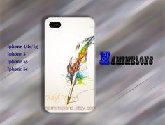 iPhone 5S Case iphoen 5C case  iPhone Case quill pen by hamimelons, $7.99