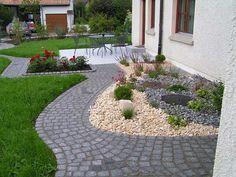 Mavi´s Gartenwelt: Kiesgarten richtig verlegen