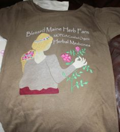 BLESSED MAINE HERB FARM T SHIRTS