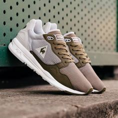 http://SneakersCartel.com These modern, athletic men's le coq sportif sneakers blend... #sneakers #shoes #kicks #jordan #lebron #nba #nike #adidas #reebok #airjordan #sneakerhead #fashion #sneakerscartel