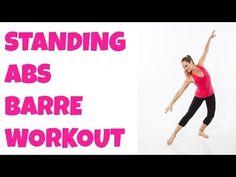 Barre Standing Abs (+ Hips, Thighs) 12-Minute Intermediate Ballet Workout