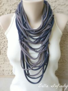 Bella Infinity Textured Scarf Wrap Grey by BellaInfinityScarves, $25.00  www.facebook.com/infinity0512