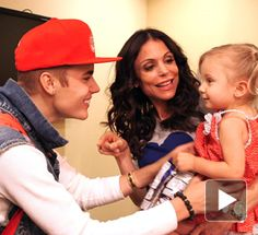 Justin!! Two f my favorite celebs in the same room! Justin and Bethenny!! And precious Bryn!#Repin By:Pinterest++ for iPad#