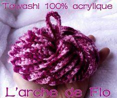 Tawashi au crochet - tutoriel Crochet Diy, Crochet Amigurumi, Crochet Hats, Creative Bubble, Knitting Patterns, Crochet Patterns, Crochet Kitchen, Crochet Necklace, Homemade